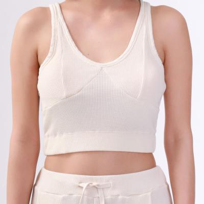 <V::room>Women's Sport Tank Bra Top ナチュラル