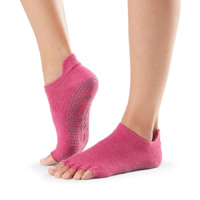 <ToeSox>Grip Half Toe Low Rise Raspberry (22.5�p〜24.5�p)
