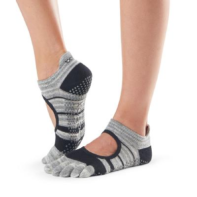 <ToeSox>Grip Full Toe Bellarina Graphite (22.5�p〜24.5�p)