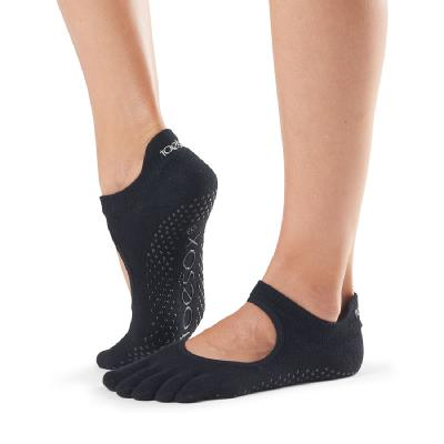 <ToeSox>Grip Full Toe Bellarina Black (22.5�p〜24.5�p)