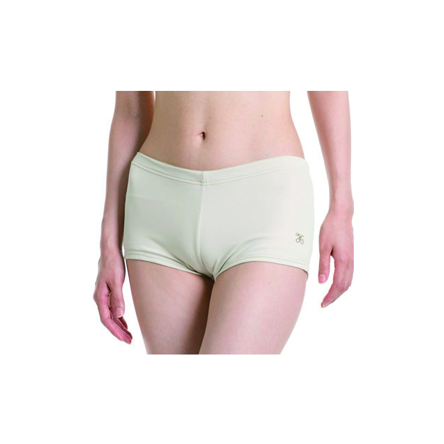 <ヨギー・サンクチュアリ> Hiphugger yoga boyshorts ベージュ (YS-11S-20-BG)
