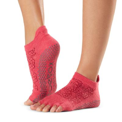 <ToeSox> Grip Half Toe Low Rise Hermosa Small (22.5�p〜24.5�p)
