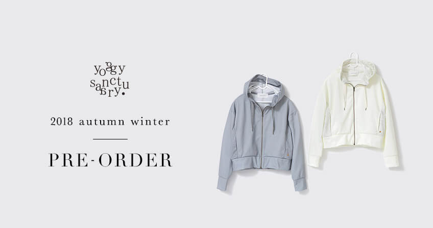 yoggy sanctuary 20018 autumn winter pre-order